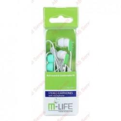 Słuchawki douszne M-Life...