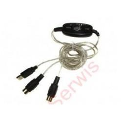 Kabel USB MIDI
