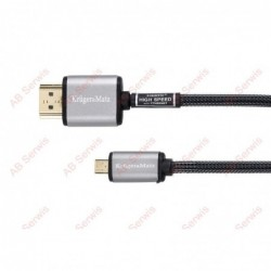 Kabel HDMI-micro HDMI 1.8m...
