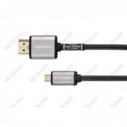 Kabel HDMI-micro HDMI 3m...