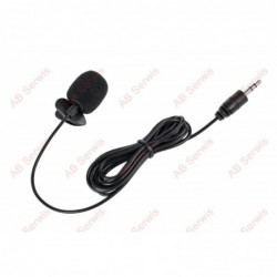 Mikrofon z klipem na kablu...