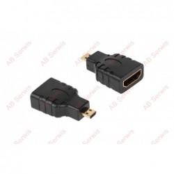 Przejście wtyk micro HDMI -...