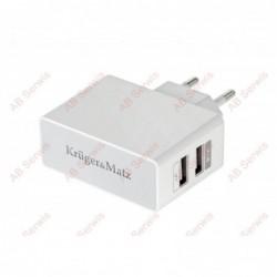 Ładowarka sieciowa dual USB...