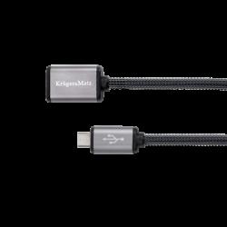 Kabel USB gniazdo - wtyk...