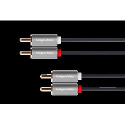 Kabel 2RCA-2RCA 10m...