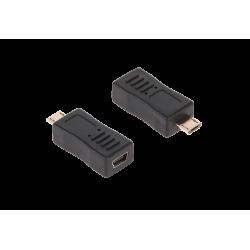 Adapter gniazdo USB mini /...