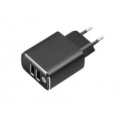 Ładowarka sieć. USB x2  3A...