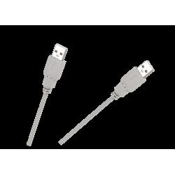 Kabel USB wtyk A/A 0,8m