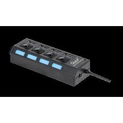 Rozgałęźnik USB 3.0 1/4...