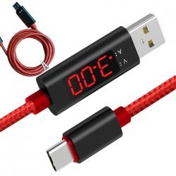 Przewód USB - USB-C 1m  z...