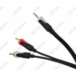 Kabel 3.5 wtyk stereo -...