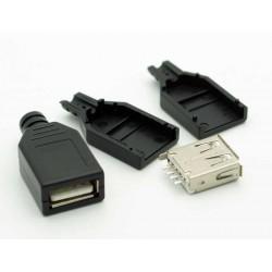 GNIAZDO USB TYPU A NA KABEL...