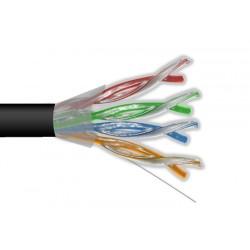 Przewód UTP5 drut CCA + żel...