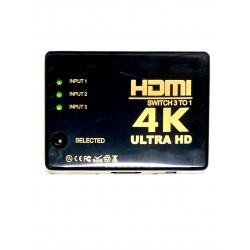 Sumator HDMI 4K 3/1