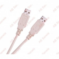 Kabel USB wtyk A/A 3M